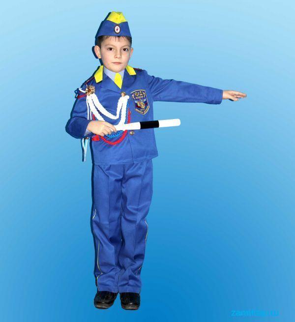 Детский костюм гибдд своими руками